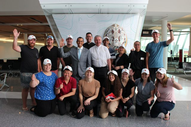 Archdiocesan World Youth Day Pilgrims depart for Panama ...